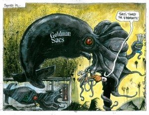 Goldman Sachs Vampire Squid
