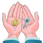 werking van een crypto wallet