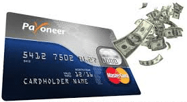 payoneer prepaid creditcard