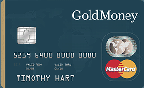 goldmoney prepaid card