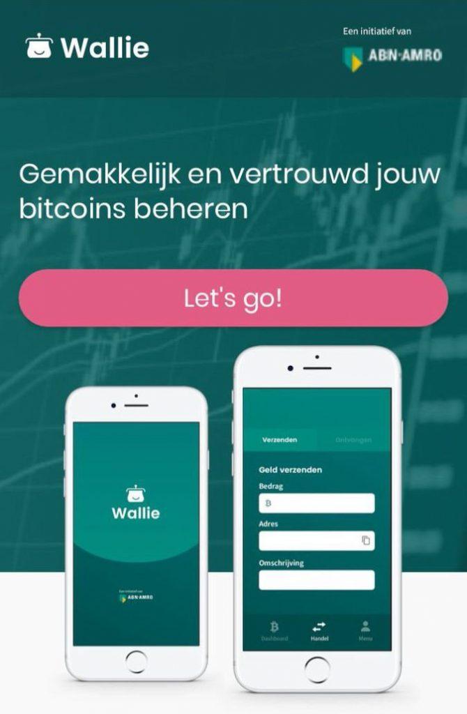 bitcoin wallie app van ABN AMRO