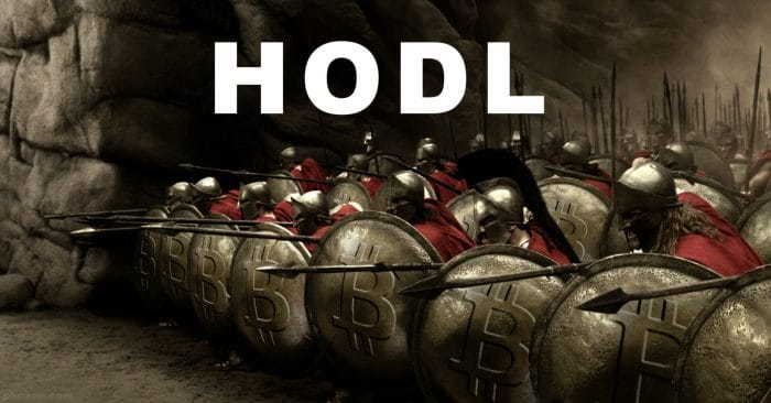 Buy bitcoin and hodl