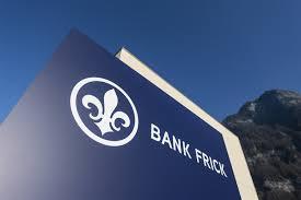 bank frick blockchain banking