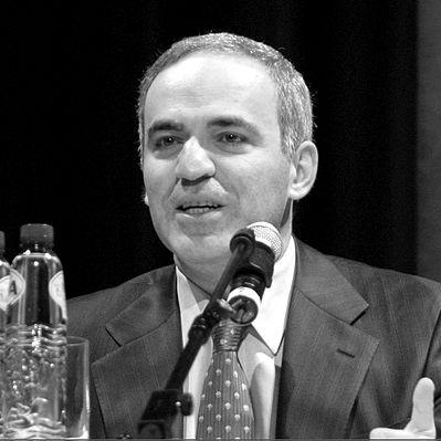 Garri Kasparov over Bitcoin